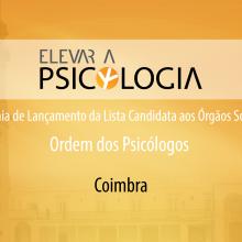 Coimbra: Cerimónia de Lançamento