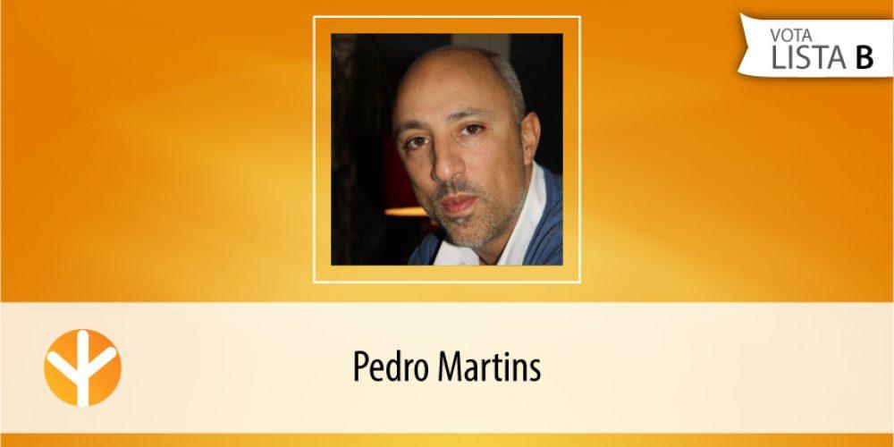 Candidato do Dia: Pedro Martins