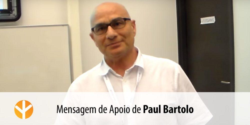 Paul Bartolo – Mensagem de Apoio à Lista «Elevar a Psicologia»