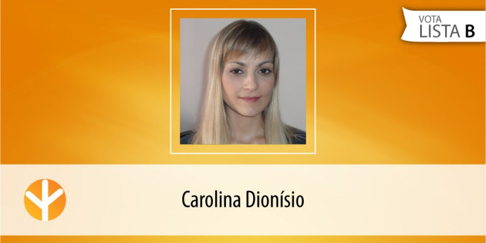 Candidata do Dia: Carolina Dionísio