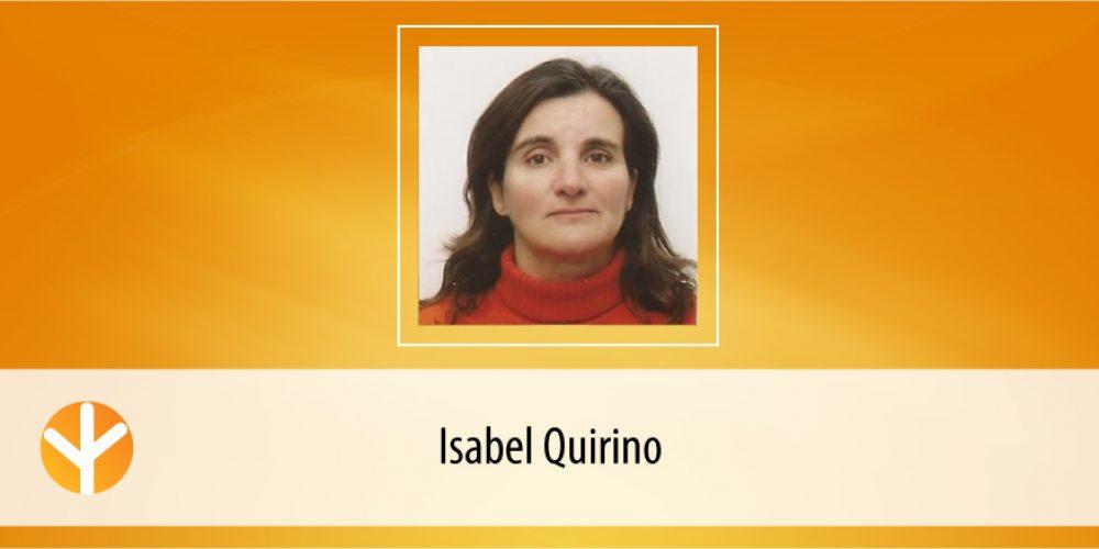 Candidata do Dia: Isabel Quirino
