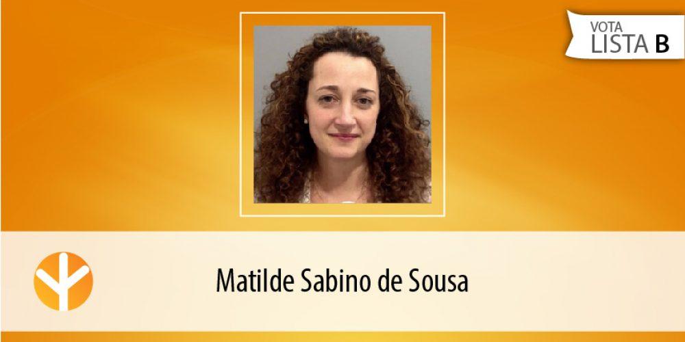 Candidata do Dia: Matilde Sabino de Sousa