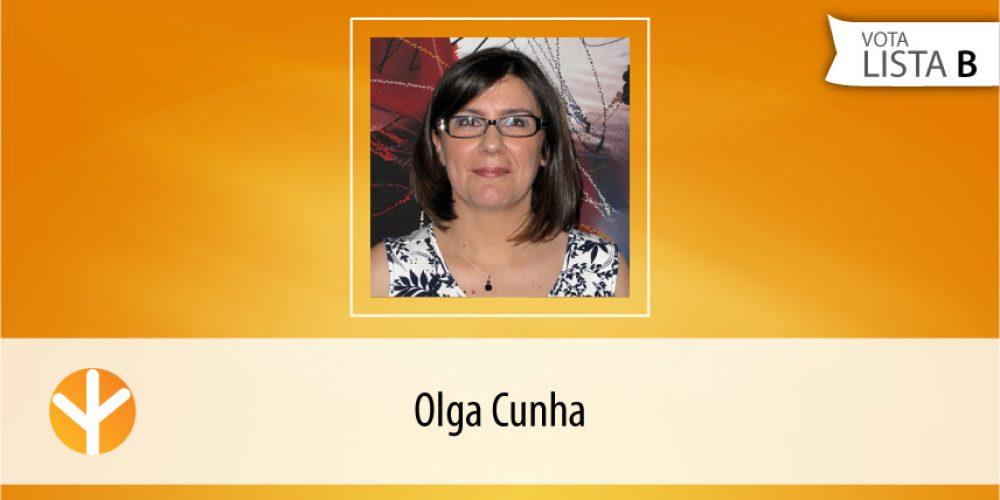 Candidata do Dia: Olga Cunha