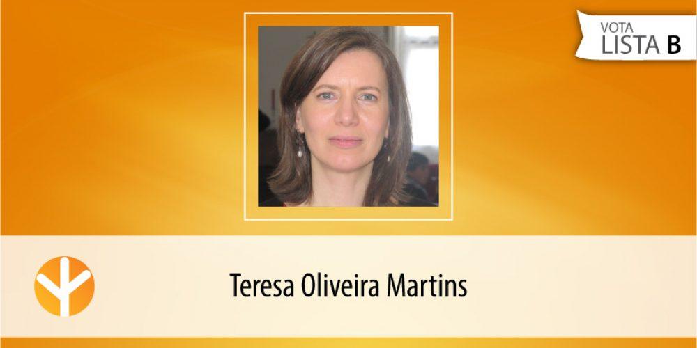 Candidata do Dia: Teresa Oliveira Martins