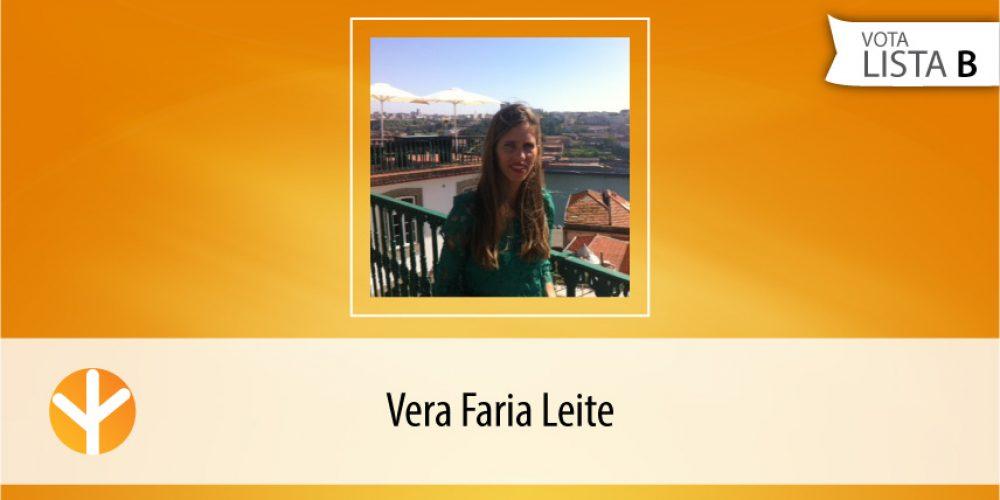 Candidata do Dia: Vera Faria Leite