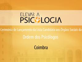 Lançamento em Coimbra