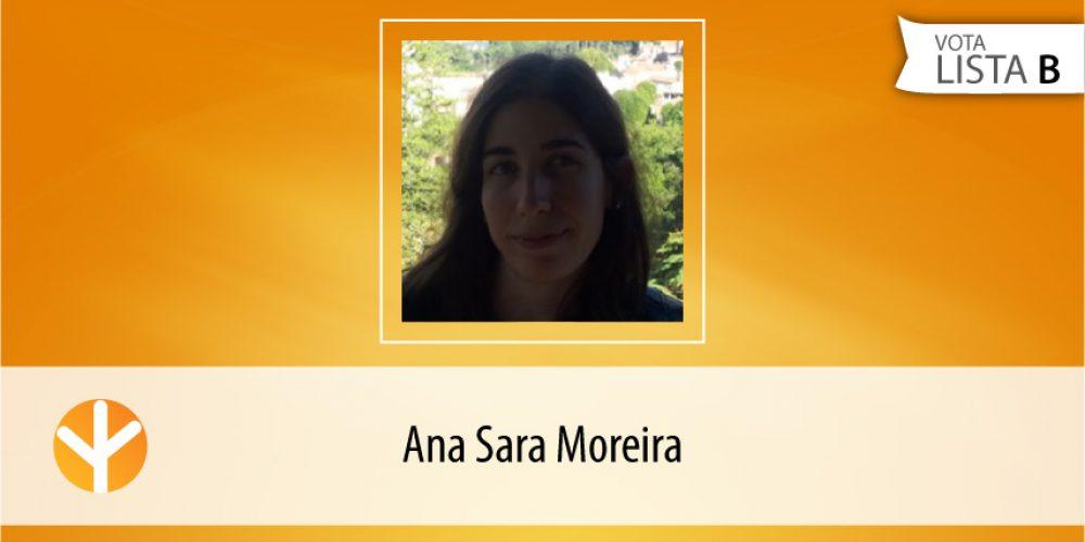 Candidata do Dia: Ana Sara Moreira