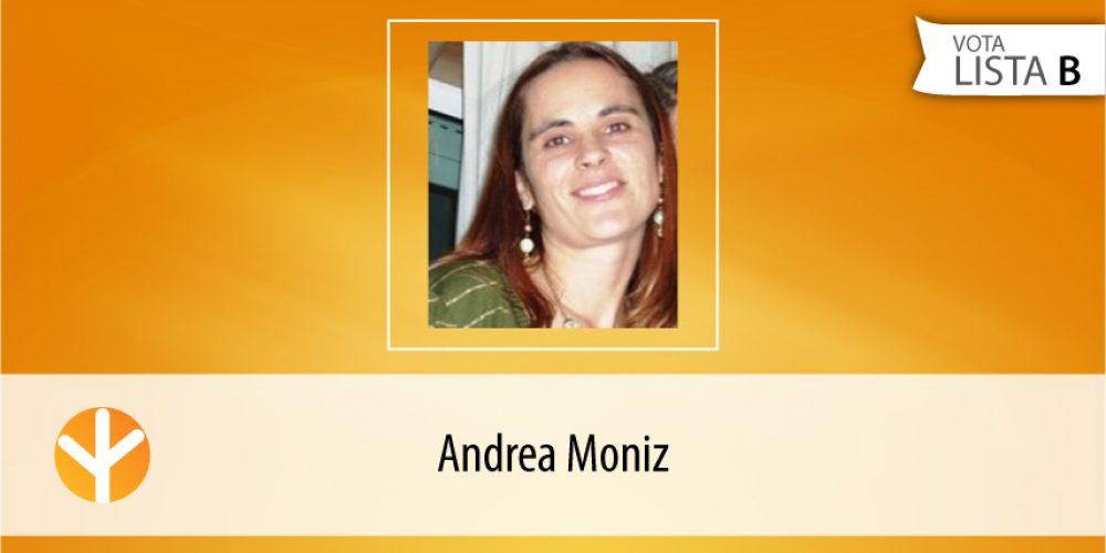 Candidata do Dia: Andrea Moniz