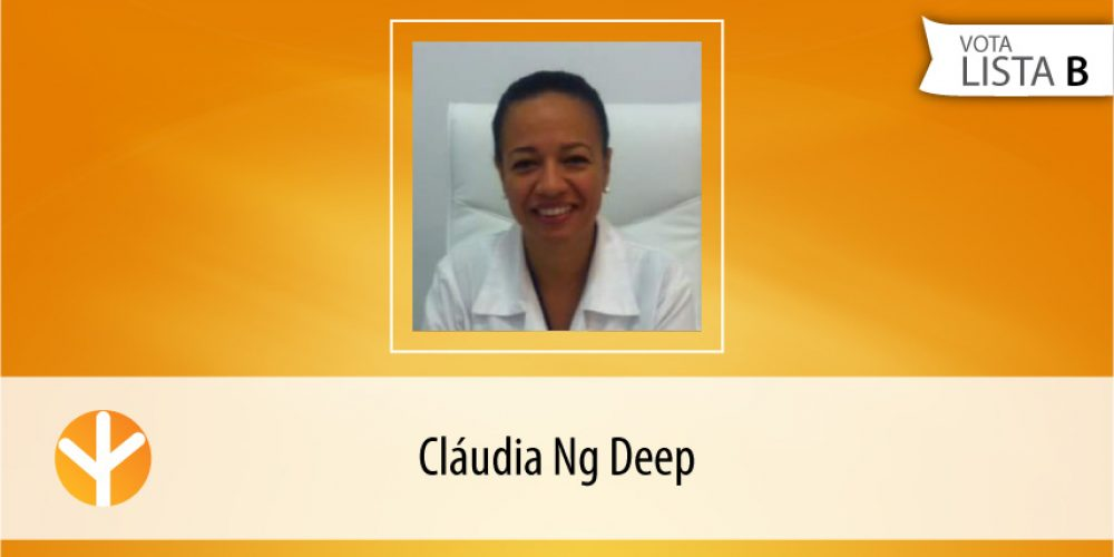 Candidata do Dia: Cláudia Ng Deep