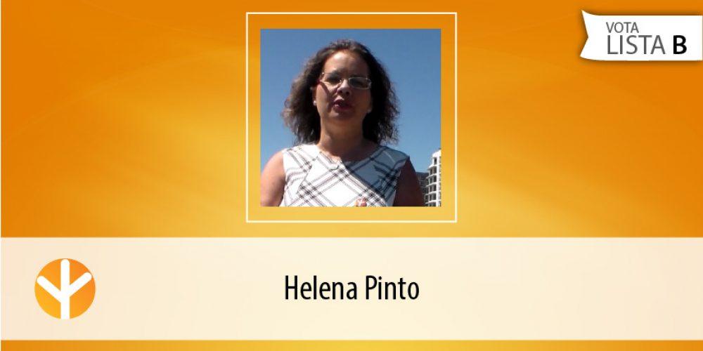 Candidata do Dia: Helena Pinto