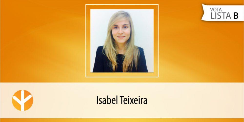 Candidata do Dia: Isabel Teixeira