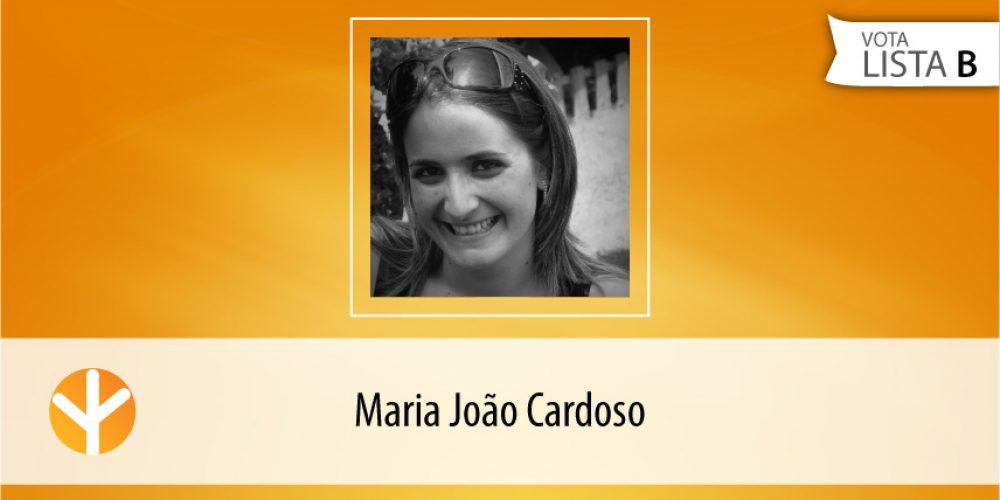 Candidata do Dia: Maria João Cardoso