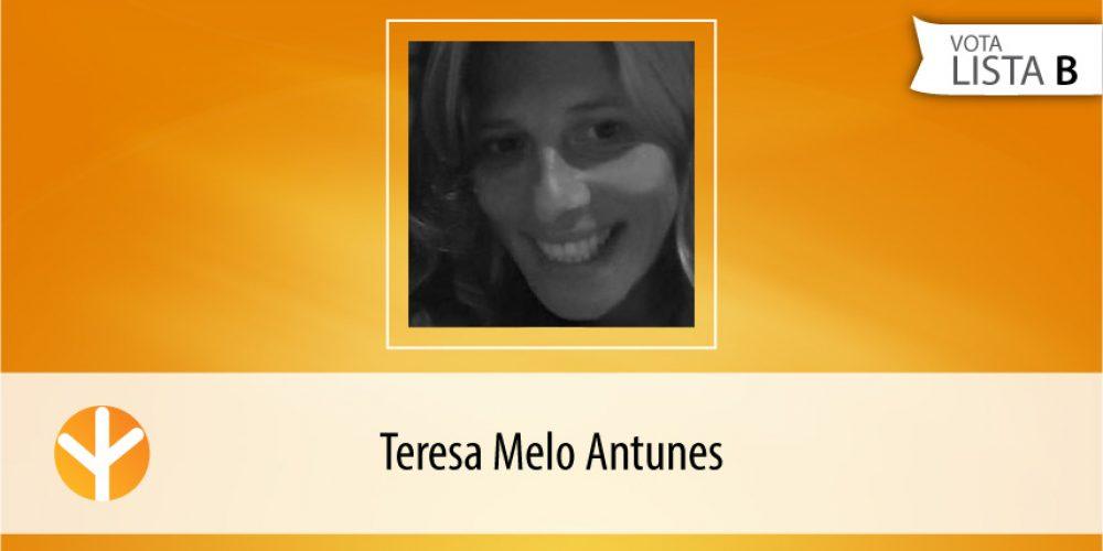 Candidata do Dia: Teresa Melo Antunes