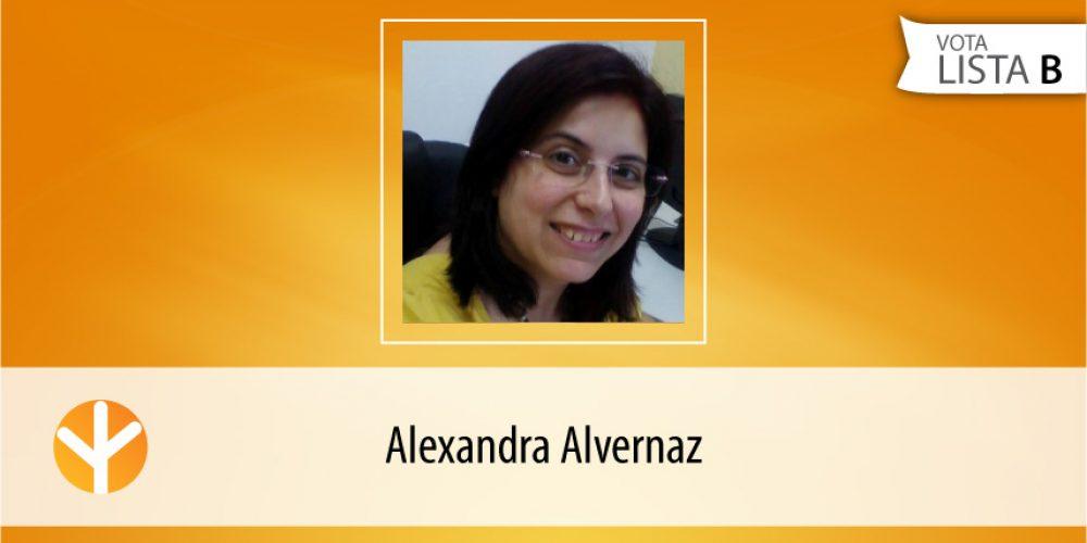 Candidata do Dia: Alexandra Alvernaz