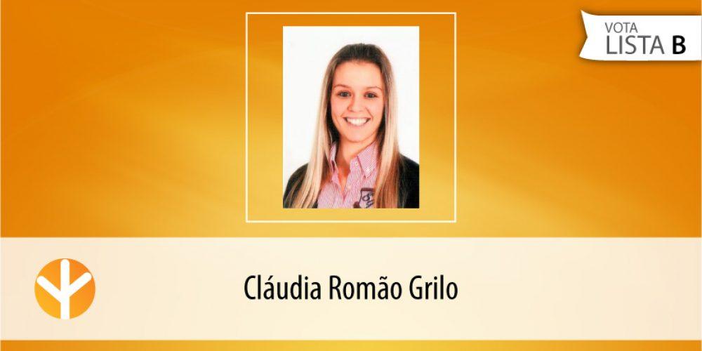 Candidata do Dia: Cláudia Romão Grilo