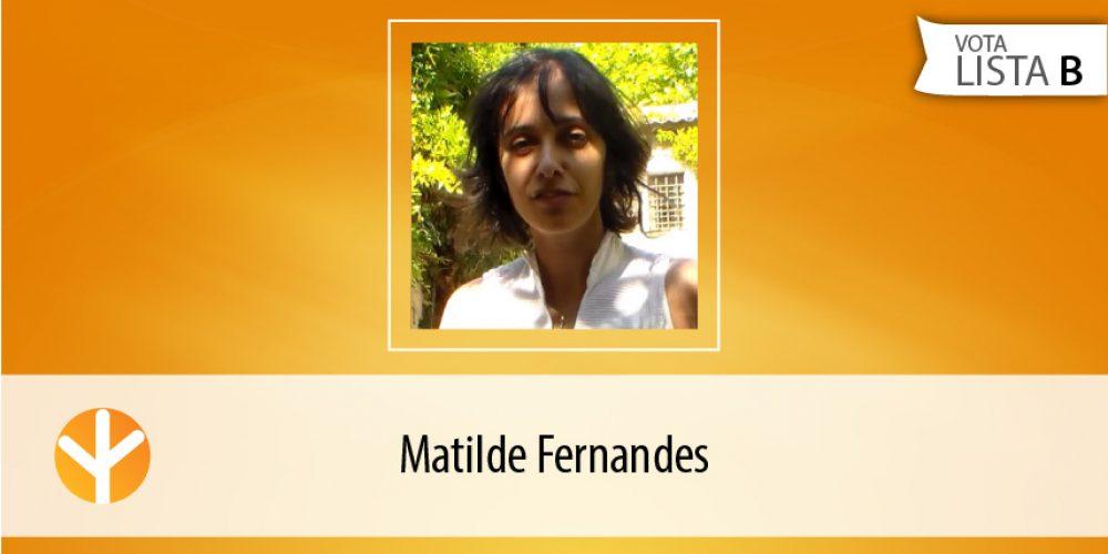 Candidata do Dia: Matilde Fernandes