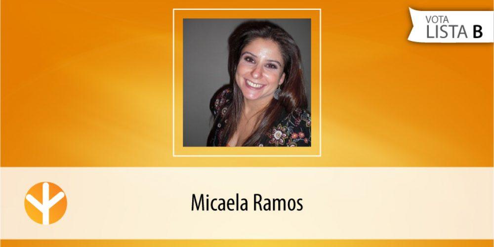 Candidata do Dia: Micaela Ramos