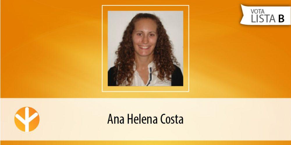 Candidata do Dia: Ana Helena Costa