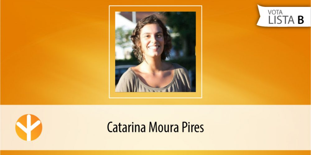 Candidata do Dia: Catarina Moura Pires