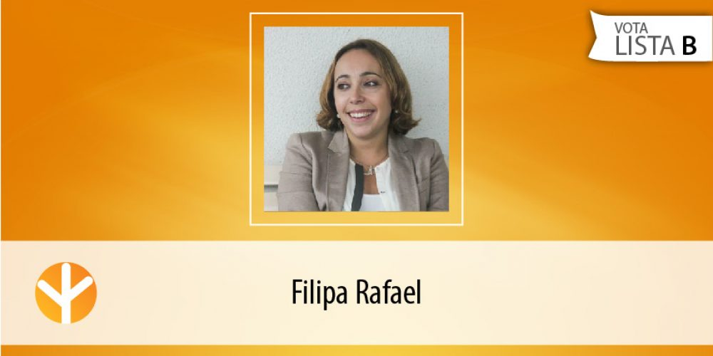 Candidata do Dia: Filipa Rafael