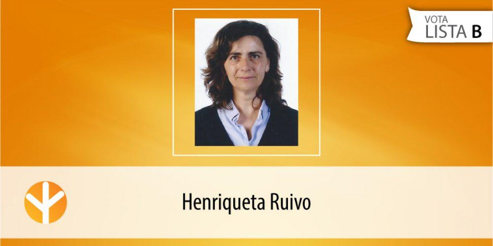 Candidata do Dia: Henriqueta Ruivo