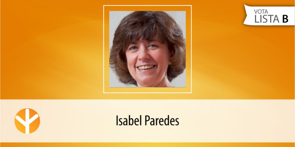 Candidata do Dia: Isabel Paredes