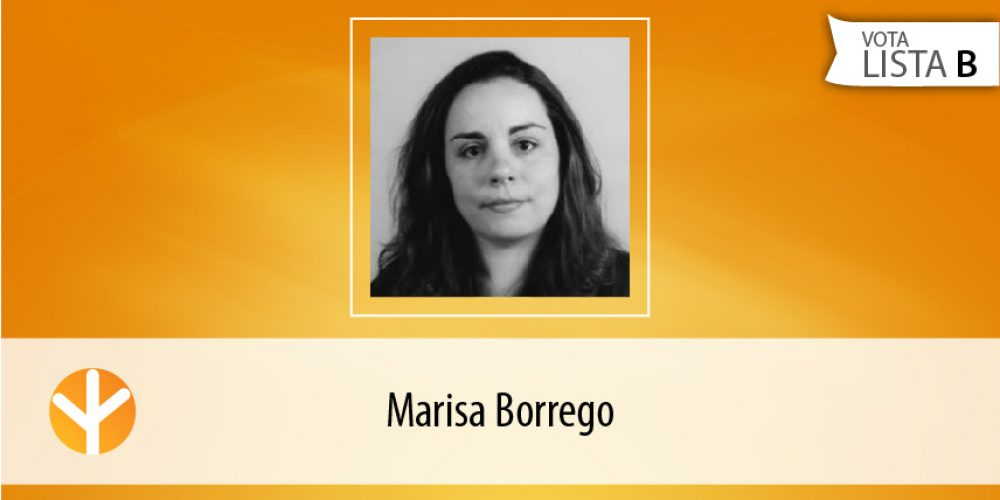 Candidata do Dia: Marisa Borrego