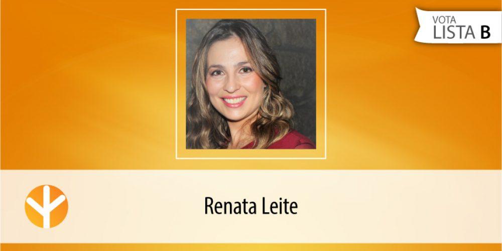 Candidata do Dia: Renata Leite