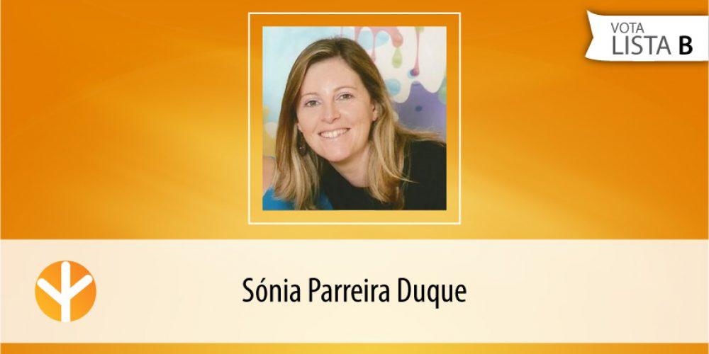 Candidata do Dia: Sónia Parreira Duque