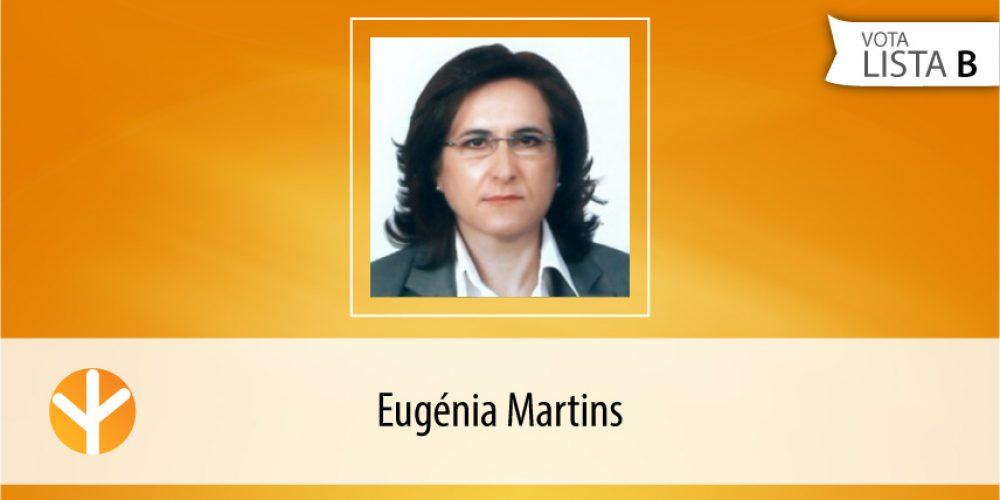 Candidata do Dia: Eugénia Martins