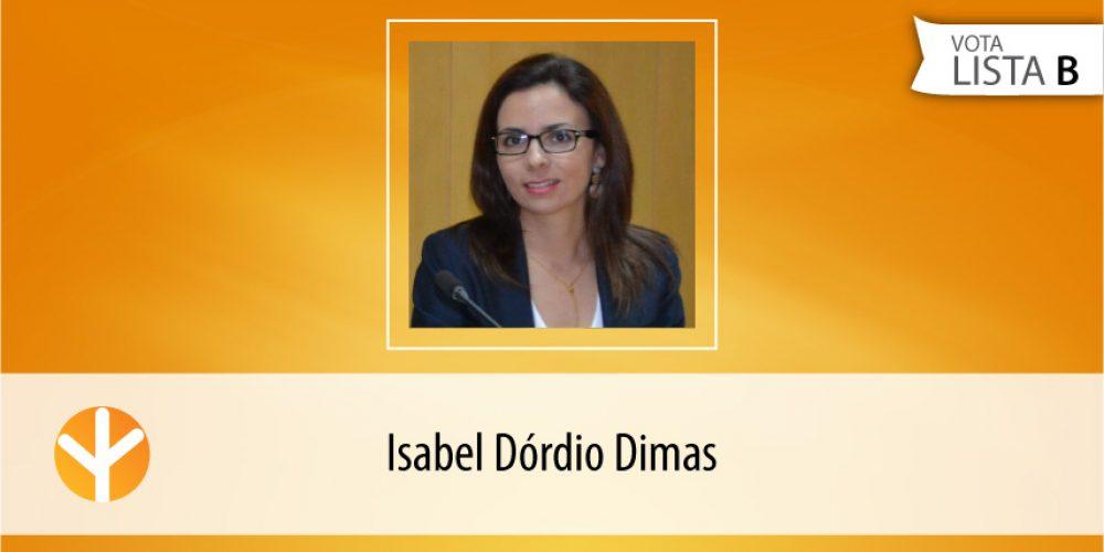 Candidata do Dia: Isabel Dórdio Dimas