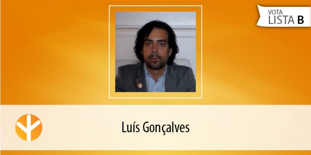 Candidato do Dia: Luís Gonçalves