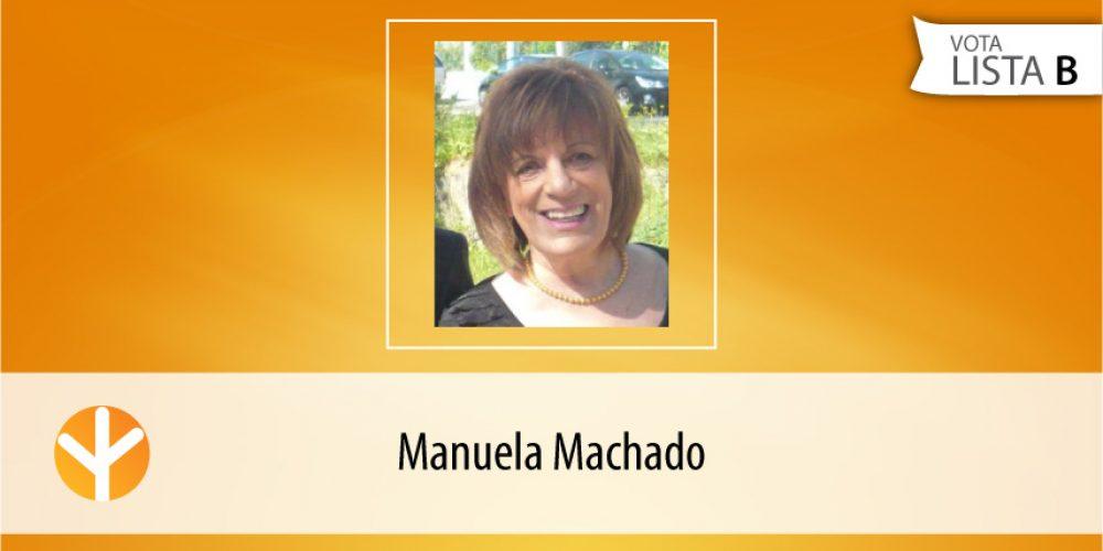 Candidata do Dia: Manuela Machado