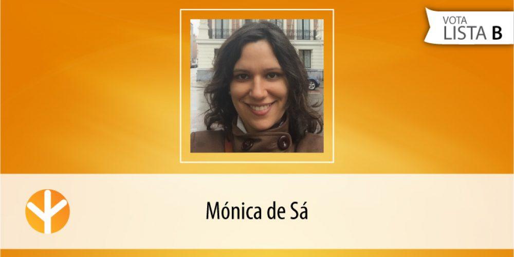 Candidata do Dia: Mónica de Sá