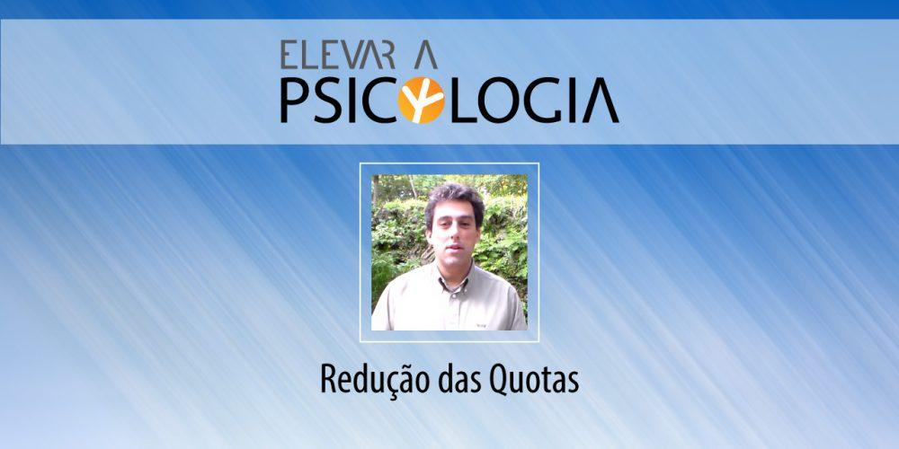 Apresentação do Programa: Redução das Quotas