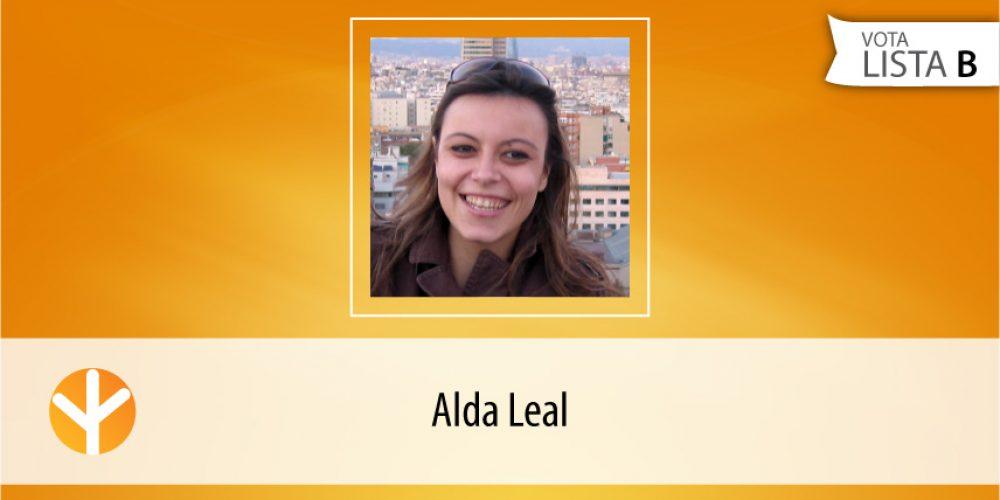 Candidata do Dia: Alda Leal
