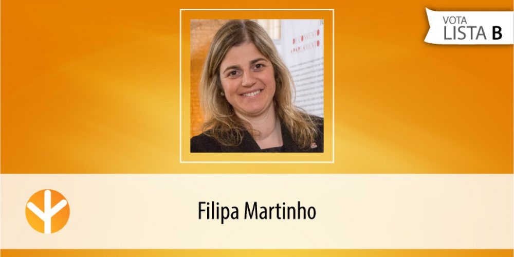 Candidata do Dia: Filipa Martinho