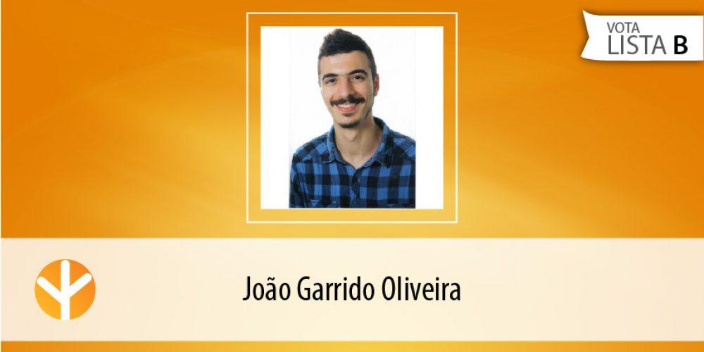 Candidato do Dia: João Garrido Oliveira