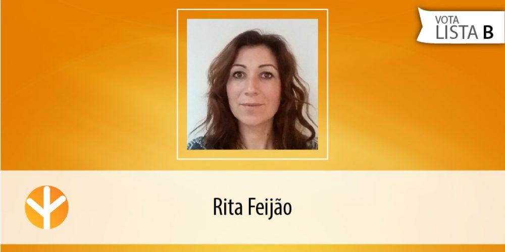 Candidata do Dia: Rita Feijão