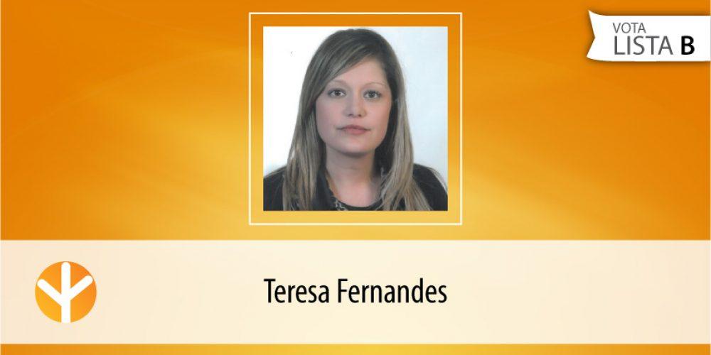 Candidata do Dia: Teresa Fernandes