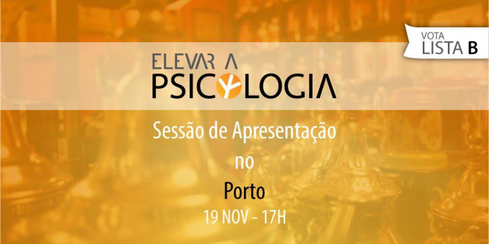 Porto: Sessão de Apresentação