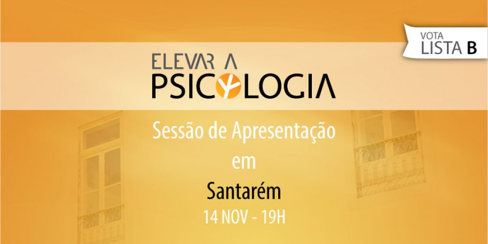 Santarém: Sessão de Apresentação